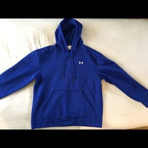 Royal blue men's small Under Armor sweatshirt
